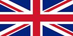 United Kingdom flag. Illustration.