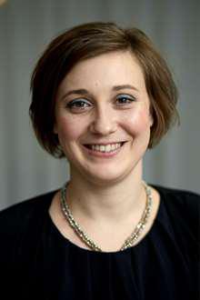 Johanna Carlsson. Portrait.